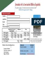 Inscripción Jornadas Málaga