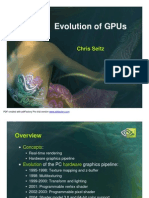 Evolution of GPUs