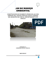 9. Plan de Manejo Ambiental Pavimento 2da Etapa Caranal