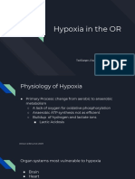 hypoxia in the or
