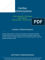 preoperative testing  cardiac catheterization