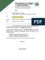 Informe Para Pago