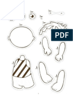 Cut and Paste Parts of Body