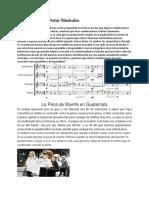 Combinación de Notas Musicales