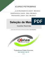 Amostra Petrobras Eng Equipamentos Jr Mecanica Selecao de Materiais