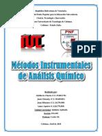 Métodos Instrumentals de Análisis