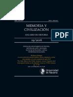 Aviso, memoria y civilización