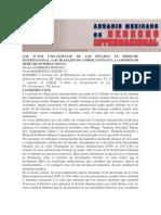 Actos Unilaterales- Anuario Mexicano de DIP
