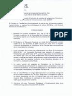 Acuerdo 068 2018 Plan de Estudios Versión 4 Periodismo