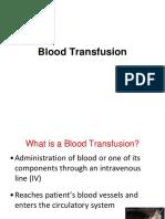 4. Blood Transfusion