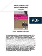 Lo Que Hacen Las Noticias (Documento de Informacion)