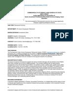 CWOPA PDs PSERS 20161103 SeniorInvestmentProfessionalRiskParity