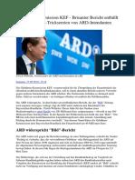 Brisanter Bericht Enthüllt Angebliche Geld-Tricksereien Von ARD-Intendanten