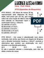 Aplicação Das Leis de Newton - Questões de Dinâmica No IFTO