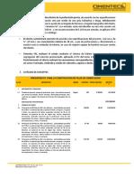 Pilas de Cimentación Catálogo de Conceptos