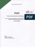 IDH e PIBpc em 2009 - Trabalho de Pesquisa no 8º ano avaliado