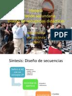 Historia México Diseño Secuencias Didácticas