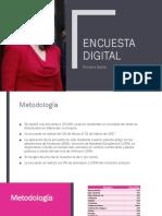 Encuesta PrimeraDama - Marzo 2017