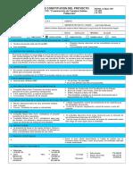 Acta de Constitución Del Proyecto de Carretera Selene Pallancata