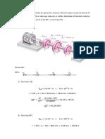 Ejercicio de torsion - mecanica de materiales