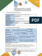 Guía de Actividades y Rúbrica de Evaluación -El Problema. 2 Elaborar Presentación en PowerPoint Con Los Criterios Planteados y El Concepto Construido. Producto 2-2