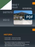Paradigmas y Desarrollo - Distrito Moho