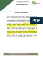 Acuerdo Proyecto Pavimentacion y Concreto Dgop Ecate