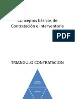 Conceptos Básicos de Contratación e Interventoria