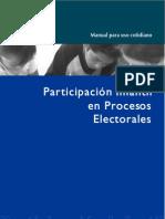 Participación Infantil en Procesos Electorales