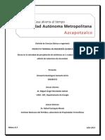 Efecto en La Velocidad de Precipitacion de Asfaltenos en 5 Crudos Mexicanos Por La Adicion de Reductores de Viscosidad