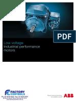 Industrial Performance Motors Catalogue