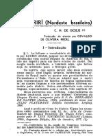 1938 O Cariri