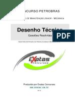 Amostra Petrobras Tecnico Mecanica Desenho Tecnico