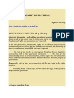 Romania Stat de Drept Sau Stat Fiscal