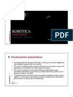ROB - Fundamentos Matematicos