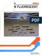 1989 OKI Vacuum Flourescent Driver Data Book
