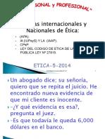 ETICA P.P- 2014-5