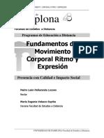 Fundamentos Del Movimiento Corporal Ritmo y Epresion