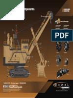 Bucyrus Shovel Component Call Out Poster EXPRI192 REV2.5 MINI E