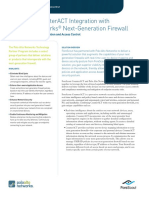 ForeScout CounterACT Integration With Palo Alto Networks