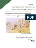 Revista Latinoamericana do Colégio de Filosofia nº3