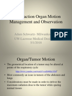 inter-fraction organ motion management