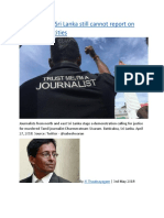 Journalists in Sri Lanka still cannot report on wartime atrocities.docx