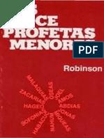 Los Doce Profetas Menores (George L. Robinson)