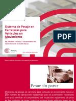 21 Sistema de Pesaje en Carreteras Para Vehiculos en Movimiento