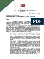 Informe Presidencia Caso Talara Actos Contra El Pudor