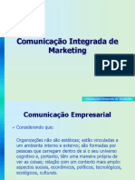 Slides - Comunicação Integrada de Marketing