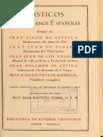 ESTELLA, PINEDA, De LOS ANGELES (Et Al). Misticos Franciscanos Españoles. (Tomo III), BAC, 1949
