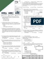 Evaluacion de Proceso Matematica 4to