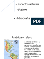 Aspectos Naturais da america do norte